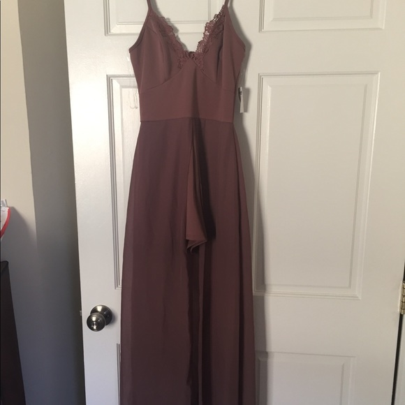 3ec5cbda69fd Beautiful NWT long Maxi Romper Charlotte Russe